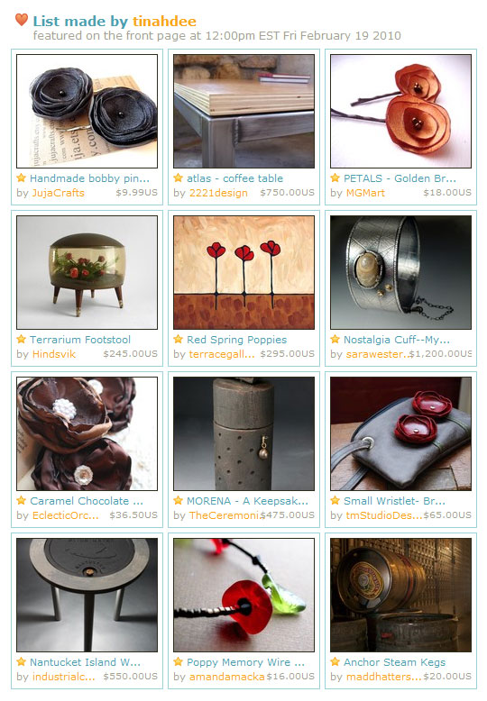 Poppy Homepage Feature Etsy Jewelry