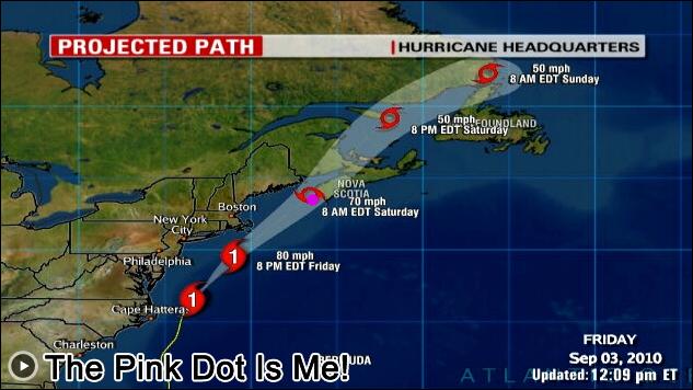 Hurricane Earl Yarmouth Nova Scotia