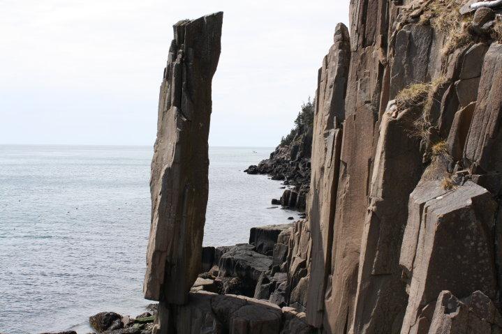 Balancing Rock Trail Long Island Nova Scotia
